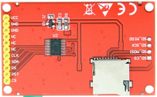 2 0inch Arduino SPI Module ILI9225 SKU:MAR2001 - LCD wiki